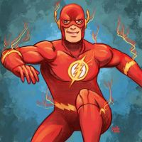 Daily Sketches the Flash by fedde