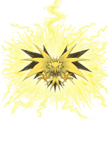 Zapdos Thunder by shinragod