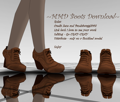 .:MMD - Boots Download:. by PandaSwagg2002