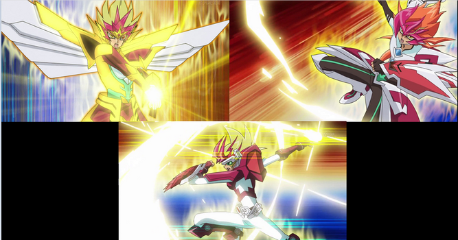 Zexal Shining Draw 1,2,3 by Just-Call-Me-Sonic