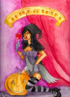 Happy Halloween 2008 by LadyCamafeo