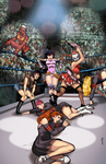 COMMISSION: Deadly Class Wrestling! by AJthe90skid