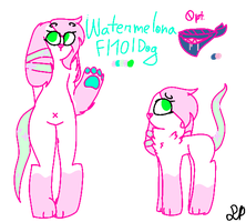 Watermelona | Refrence Sheet by PasteIPizza