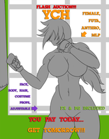 Flash YCH -Boxing Training- Auction by DesingAHV