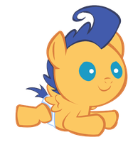 Flash Sentry Baby by MissPegasister