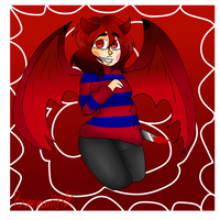 Red as the blood. :RQ: by Bonnieart04