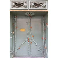 Art Nouveau Doorway by sequential