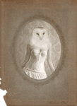 Victorian Portraits: Madame Owl by Violet-kill