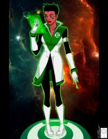 Green Lantern Soranik Natu Redux by e-carpenter