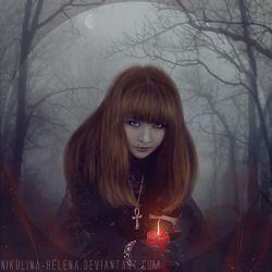 Witch (Comission) by Nikulina-Helena