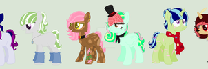 MLP Mystery Adopts .:CLOSED:. by Columbia-Rose