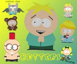 Butters Stotch Wallpaper by danielle-15