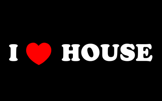 i Love House, simple design by killerbeat