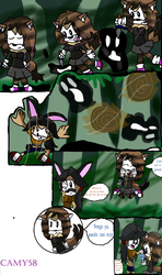 against electric shade parte 1 1/3 by Camy58