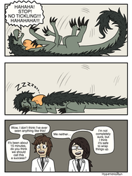 SCP-682 and SCP-999 page 4 by HypernovaRain