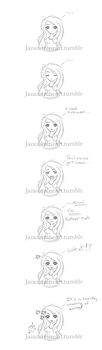 Jazzy's mini doodle comic by Rubii-san