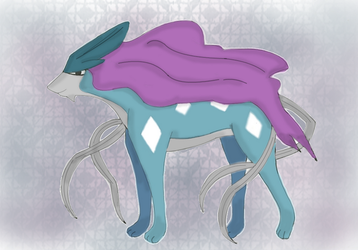 Suicune by annoyingArticuno