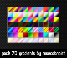 70 Gradients by RoseCabriolet by RoseCabriolet