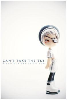 Can't take the sky by Geekisthecolour