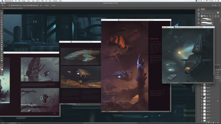 More Worldview Art Book updates by JamesLedgerConcepts