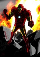 Iron Man ! by SeiKyo-Art