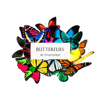Butterflies / Mariposas [Pack #17] by OnlyWolfs