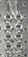 Chainmaille Earring 75 by Des804