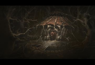 Skull hut by UnidColor