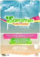 Summa Intentions Poster by xeon-art