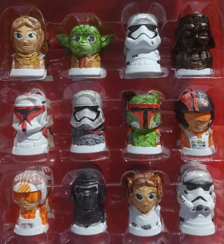 Star Wars Toppers by Neyebur