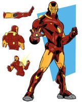 Iron Man Redux by onecoyote