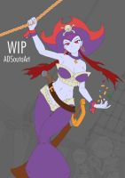 WIP - Risky Boots, Pirate Queen by ADSouto
