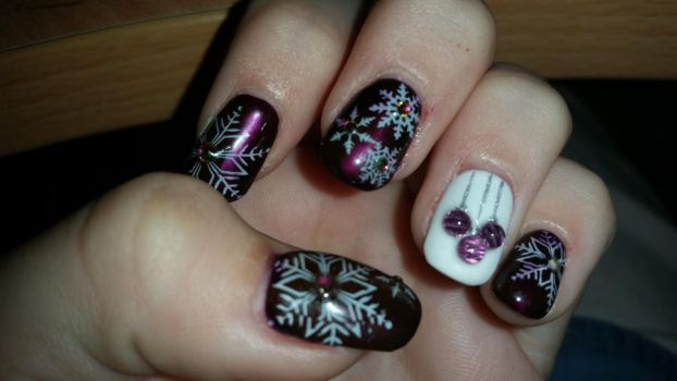 Chistmas nails! by DRMGames