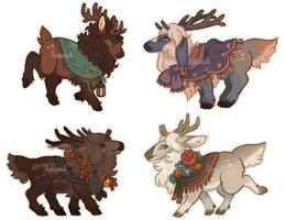 Fall Mini Beps [closed] by Herboreal