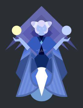 Holly Blue Diamond Mural by Bappy135