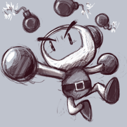 December T8 - Bomberman by GTK666