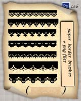 Paper Border Brushes by roula33