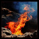 Flames From The Interior Of The Earth (Volcano) by skarzynscy