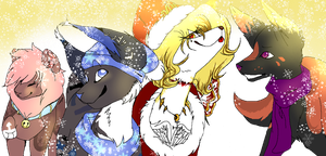 Merry christmas to all, and to all a good night! by B1rdSong