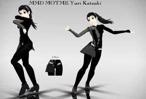 MMD Motme YOI Female Yuri {Eros} Download by dianita98