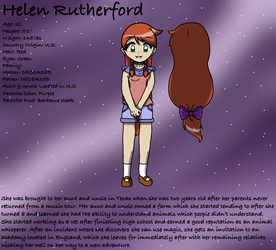 Helen Rutherford by AnimatronicClover