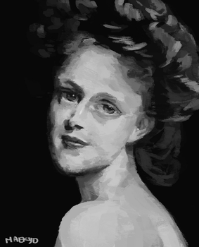 Sargent Portrait by Maekyo