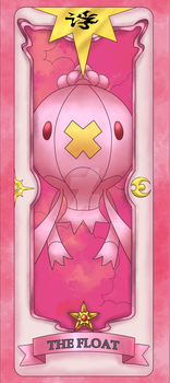 Sakura Pokemon Card 04: The Float by gerugeon