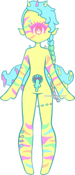 OPEN | Electric Neon TentaGoo by Sugary-Stardust