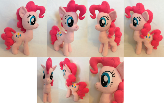 :MLP: Pinkie Pie Plush (for sale) by MiharutheKunoichi