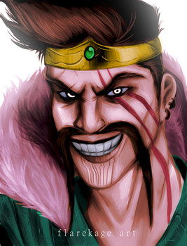 Welcome to the League of DRAVEN by FlareKage