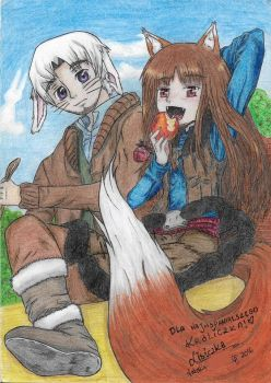 Spice and Wolf cover by Gwiazdkax3