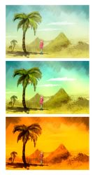 desert heat - colors by rotemg20