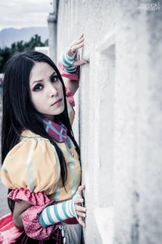 Alice Madness Returns  : Misstitched dress by Nani-Dechuka
