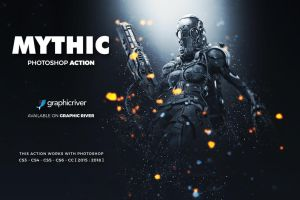 Mythic Photoshop Action by hemalaya